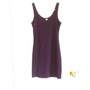 H&M divided purple ruffle dress
